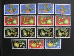 Polynésie: TB Série Timbres De Service N° 1A Au  N° 15A, Neufs XX. - Service