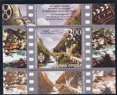 2003, Bosnien-Herzegowina (Serbische Republik) , 265 Block 7, MNH **, 100. Jahrestag Der Ersten Filmdreharbeiten In Serb - Bosnie-Herzegovine