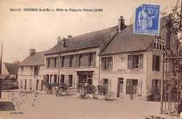 77 . N° 101273  .mouroux .pas Courante .hotel Du Pingouin Maison Jacob   . - Sonstige Gemeinden