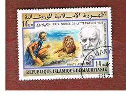 MAURITANIA -  SG 543  -  1977NOBEL PRIZE WINNERS: G.B. SHOW -  USED° - Mauritania (1960-...)