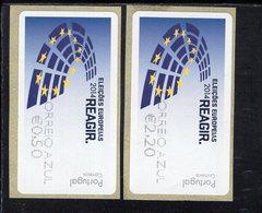 88 Europawahl Coreio Azul ** Postfrisch, MNH, Neuf (4) - Automatenmarken (ATM/Frama)