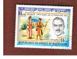 MAURITANIA -  SG 544  -  1977 NOBEL PRIZE WINNERS: T. MANN   -  USED° - Mauritania (1960-...)