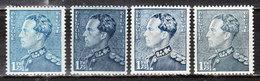 430**  Poortman - 4 Nuances Différentes - Bonnes Valeurs - MNH** - LOOK!!!! - 1936-51 Poortman