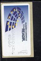 88 Europawahl Correio Azul ** Postfrisch, MNH, Neuf (6) - Automatenmarken (ATM/Frama)