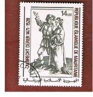 MAURITANIA -  SG 607  -  1979 A. DURER: YOUNG PEASANT & WIFE  -  USED° - Mauritania (1960-...)