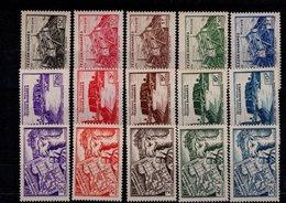 Fezzan N° 28 à 42 Série De 15 Timbres Neufs** - Fezzan (1943-1951)