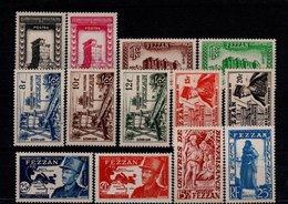 Fezzan N° 43 à 55 Série De 13 Timbres Neufs** - Fezzan (1943-1951)