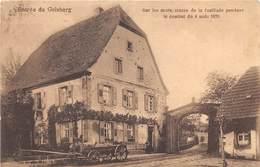 Entrée Du Geisberg - Sur Les Murs, Traces De La Fusillade Pendant Le Combat Du 4 Août 1870 - France