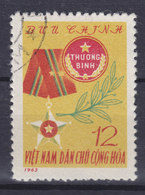 Vietnam Portofreiheitsmarke 1963 Mi. 7   12 (xu) Für Die Kriegsinvaliden Frontkämpfermedaille - Vietnam