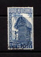PAPUA  NEW  GUINEA    1952    7 1/2d  Blue    USED - Papua New Guinea
