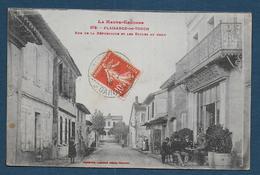 PLAISANCE DU TOUCH - Rue De La République Et Les Ecoles Au Fond - Altri Comuni