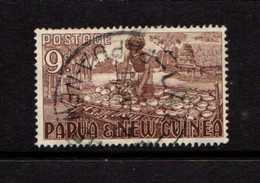 PAPUA  NEW  GUINEA    1952    9d  Brown    USED - Papua New Guinea