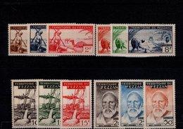 Fezzan N° 56 à 67 Série De 12 Timbres Neufs** - Fezzan (1943-1951)