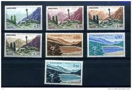 Andorre  :  Yv  158-64  **  Sans Les 3 Grosses Valeurs - Unused Stamps