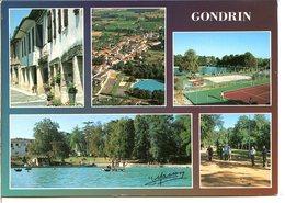 32330 GONDRIN - Lot De 2 CPM - Voir Détails Dans La Description - Other Municipalities