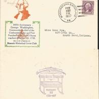 J) 1937 UNITED STATES, MASONIC GRAND LODGE, 205th ANNIVERSARY GERGE WASHINGTON, COMMANDER-IN-CHIEF OF THE CONTINENTAL AR - United States