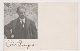 Ettore Romagnoli, Grecista E Letterato Italiano - F.p. - Anni '1920 - Scrittori
