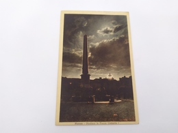 Cartolina Massa Obelisco In Piazza Umberto I Per Viterbo - Massa