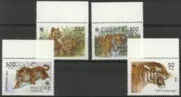 [43937]TB//**/Mnh-Russie 1993, Tigres - Big Cats (cats Of Prey)