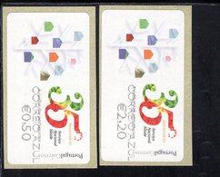 90 Europawahl Correio Azul ** Postfrisch, MNH, Neuf (4) - Automatenmarken (ATM/Frama)
