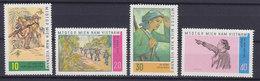 Vietnam Vietcong 1968 Mi. 15-18 Kampf Für Die Freiheit Zeitgenössische Gemälde Complete Set MH* - Vietnam