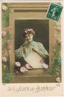 33692. Postal Romantica Vintage REGUINY (Morbihan) 1911 A Lanion - Francia
