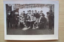 PUGLIA BRINDISI FOTO GRANDE CON GERARCHI FASCISTI ED AVANGUARDISTI ANNO 1931 - Foto
