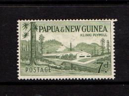 PAPUA  NEW  GUINEA    1958    7d  Bronze  Green    MNH - Papua New Guinea