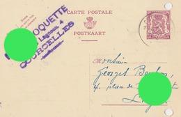 COURCELLES MOTTE 1940 Fernand POQUETTE - Courcelles