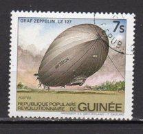 Guinée Yvert N° 737 Oblitéré Dirigeable Lot 5-67 - Guinée (1958-...)