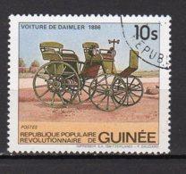 Guinée Yvert N° 738 Oblitéré Voiture Lot 5-68 - Guinée (1958-...)