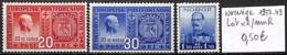 [838645]TB//**/Mnh-Norvège 1937-43 - Lot **/mnh - Neufs