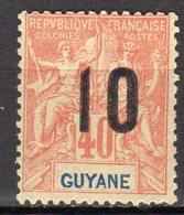 Guyane Yvert N° 71 Neuf Avec Charnière Lot 5-98 - Nuovi