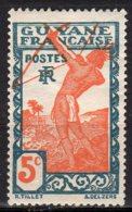 Guyane Yvert N° 112 Neuf Avec Charnière Indigène Tirant à L'arc Lot 5-106 - Nuovi