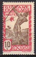 Guyane Yvert N° 113 Neuf Avec Charnière Indigène Tirant à L'arc Lot 5-107 - Nuovi