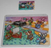PUZZLE  KINDER SUPRISE - K.02 Nº 107 - Puzzles