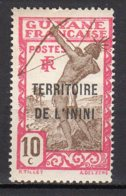 Inini Yvert N° 5 Neuf Avec Charnière Point De Rouille Lot 6-32 - Nuovi
