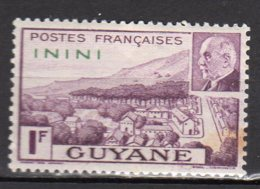 Inini Yvert N° 51 Neuf Avec Charnière Point De Rouille Lot 6-33 - Nuovi