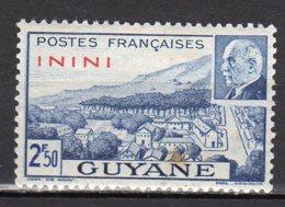 Inini Yvert N° 52 Neuf Avec Charnière Point De Rouille Lot 6-34 - Nuovi