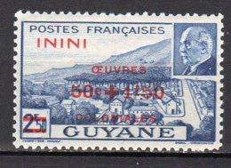 Inini Yvert N° 57 Neuf Avec Charnière Lot 6-35 - Nuovi