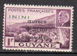Inini Yvert N° 58 Neuf Avec Charnière Lot 6-36 - Nuovi