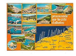 50 PROMENADE SUR LA COTE D'ALBATRE - Landkarten