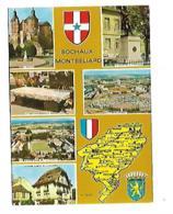 25 SOUVENIR DE  SOCHAUX MONTBELIARD CARTE MULTIVUES - Landkarten