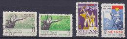 Vietnam 1969 Mi. 581-82, 584-85 Siegreiche Frühjahrsoffensive 1968 Der Nationalen Befreiungsfront (Almost) Complete Set - Vietnam