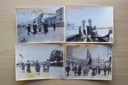 VENETO 4 FOTO ANNO 1919 GITA A VENEZIA PRIMI ANNI 900 - Foto