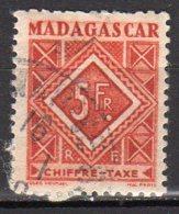 Madagascar Yvert N° 38 Taxe Oblitéré Lot 6-171 - Madagascar (1889-1960)