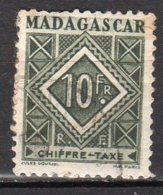 Madagascar Yvert N° 39 Taxe Oblitéré Point De Rouille Lot 6-172 - Madagascar (1889-1960)
