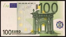 100 € Italia Italy Italie J033F2  Trichet Q.FDS DA MAZZETTA  Cod €.279 - EURO