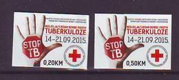 BiH Bosnia 2015 Y Charity Stamp Red Cross Tuberculosis Mi No 34 Selfadhesive MNH - Bosnien-Herzegowina