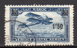Maroc Yvert N° 33 Aérien Oblitéré Lot 7-106 - Marocco (1891-1956)